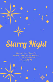 Starry Night  School Posters