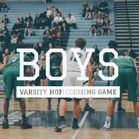 Light Toned Boys Homecoming Game Instagram Post Basketball