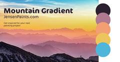 Mountain Gradient Paint