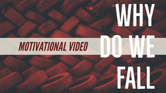 Red, White and Black Motivational Video Cover You Tube Fall
