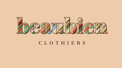 Pink and Colorful Beaubien Social Post Ideas de logotipos