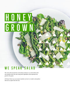 HONEY<BR>GROWN Restaurants
