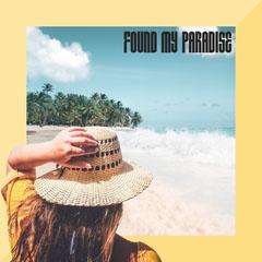 Yellow Beach Found my paradise IG Square Sun