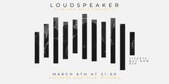 Loudspeaker Eventbrite Banner Event Banner