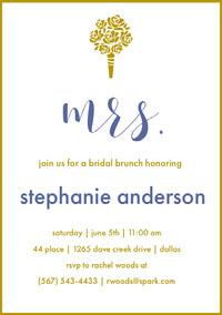 bridalshowerinvitations Invitación a despedida de soltera