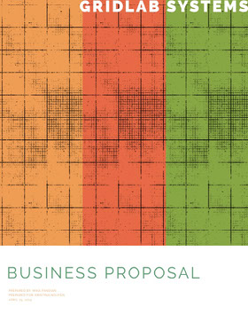 Multicolored Business Proposal Forslag