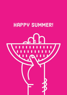 White and Pink Happy Summer Card jeff-test-5