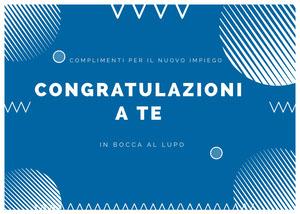 new job congratulations cards Biglietto d'auguri di pronta guarigione