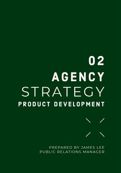 Green and White Agency Strategy Proposal Agency