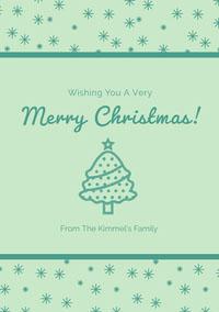 Merry Christmas! Weihnachtskarte