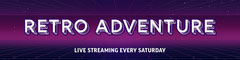 Purple & Pink Neon Offline Twitch Banner Stream