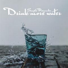 Drink Water Instagram Square Water
