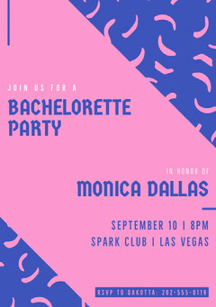 bachelorettepartyinvitation Club Party