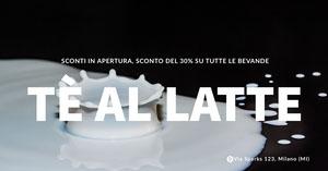 milk tea drinks banner ads Dimensioni Immagini Twitter