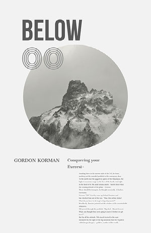 White and Grey Everest Travel History Instagram Post  perfil profissional