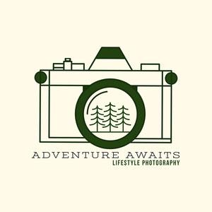 minimal lifestyle photography logo Photography Logo