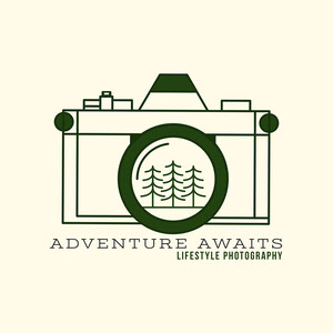 minimal lifestyle photography logo Logo de Photographie