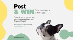 Green Yellow Pet Store Competition Dog Twitter Pets