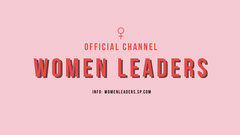 Pink Women Leaders Conference Youtube Channel Art  Seminar Flyer