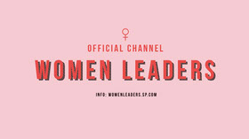 Pink Women Leaders Conference Youtube Channel Art  Banner do YouTube