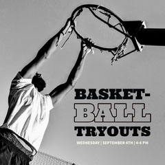 BASKET-<BR>BALL<BR>TRYOUTS  Teams