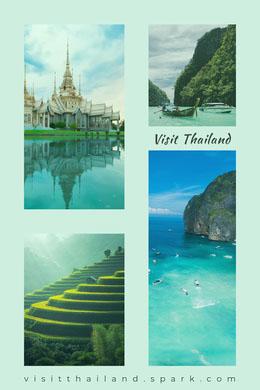 visitthailand.spark.com Photo Collage