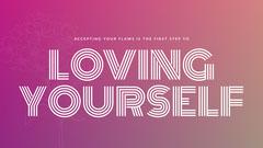 Pink Inspirational Saying Desktop Wallpaper Background