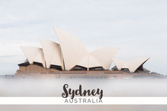 Sydney Australia postcard Vacation