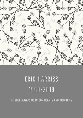 ERIC HARRISS 1960-2019
