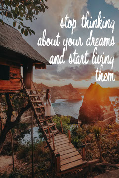 Living Dream Quote Pinterest Vacation