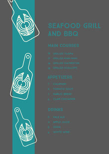 SEAFOOD GRILL AND BBQ BBQ Menu