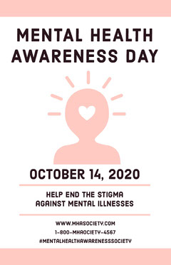 MENTAL HEALTH AWARENESS DAY Campaign