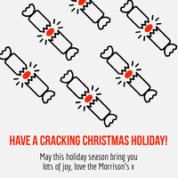 cracking Christmas holiday igsquare  Carte de Noël