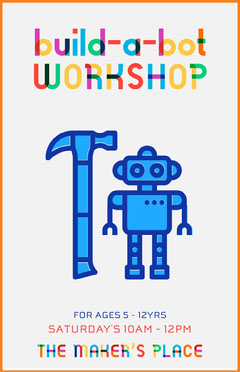 build a bot workshop poster Workshop