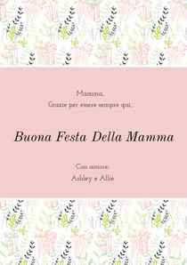 mothersdaycard Biglietto di auguri per la Festa della mamma