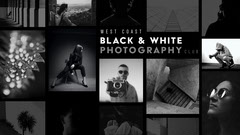Black and White Collage Photography Facebook Page Cover Black And White
