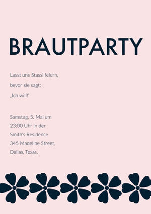 BRAUTPARTY