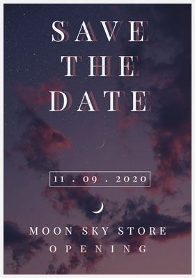 SAVE THE DATE Save the date-kort