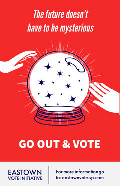 Go Out And Vote Poster Voting