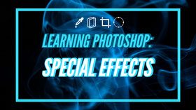 Learning Photoshop: Special effects Banner para YouTube