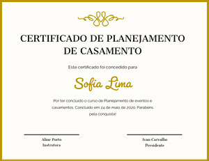 Sofia Lima Diploma