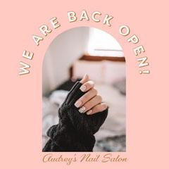 Pink Nail Salon Instagram Square Beauty Salon
