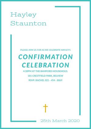 confirmationinvitation Confirmation Invitation