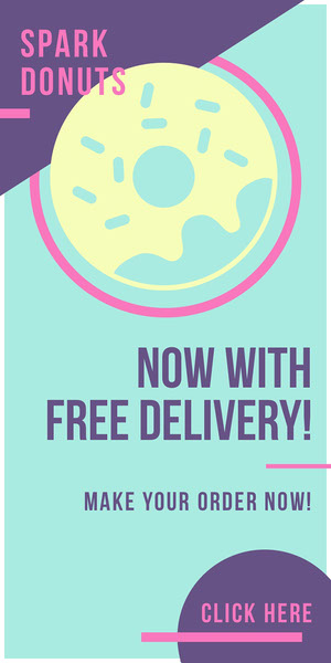 NOW WITH<BR>FREE DELIVERY! Advertisement Flyer