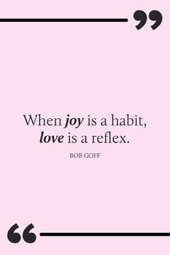 Joy is a habit Pinterest Pinterest