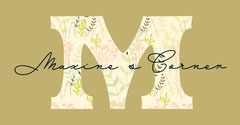 Brown and Yellow Floral Logo Leaf