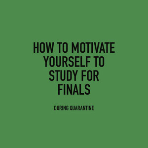 finals motivation instagram  Affiche de motivation