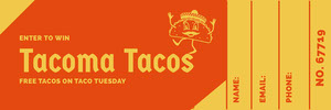 Tacoma Tacos   Ticket