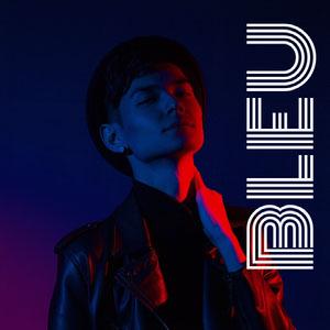 Blue and Red Toned Music Album Cover Instagram Post Copertina album