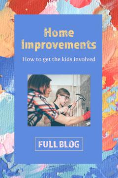 Blue Multicoloured Home Improvements Pinterest Kids